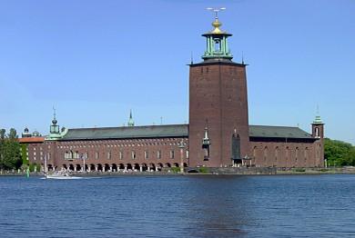 Terminado en el siglo XX, es la sede de los Premios Nobel