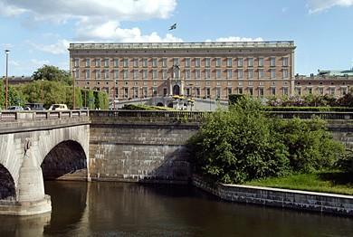 El Palacio Real de Estocolmo se terminó en 1697.