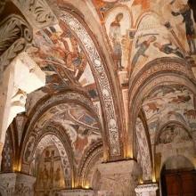 Pinturas románicas del Panteón