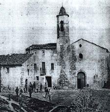 Antigua imagen de La Mussara
