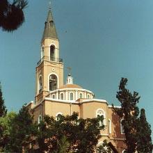 Iglesia que conmemora la resurrección de Tabita