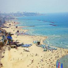 Tel Aviv dispone de 14 km de playa