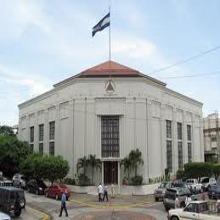 Edificio de la Asamblea Nacional de Nicaragua.