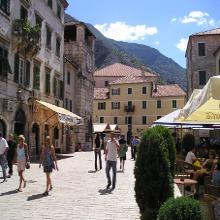 Plazas y calles de Kotor