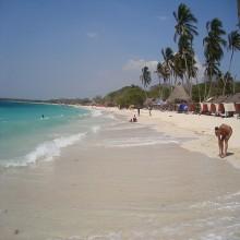 playa blanca en baru