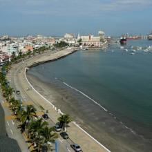 La playa de Boca del Río
