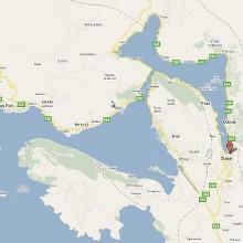 Ubicación de Kotor