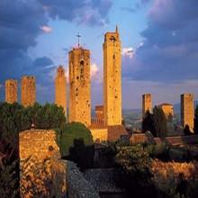 Vista general de San Gimignano