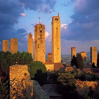 Torres de San Gimignano, Toscana, Italia