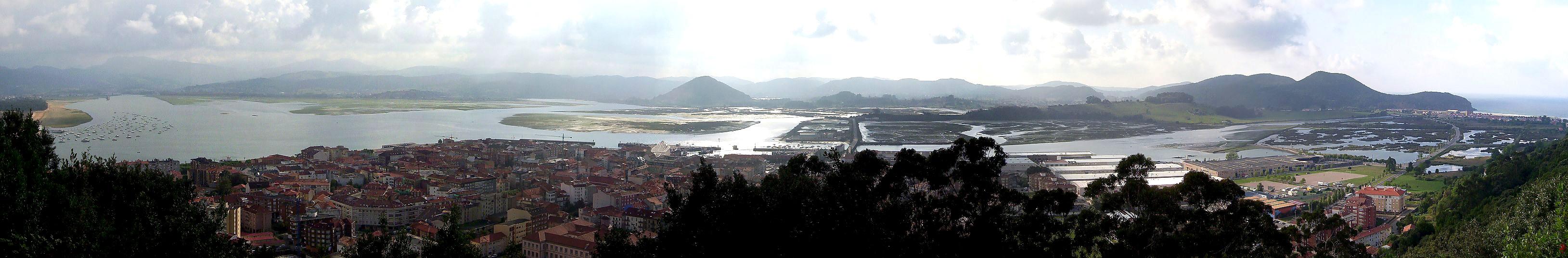 Marismas de Santona y Noja en Cantabria