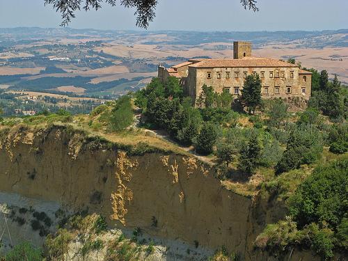 El Balze di Volterra y la abadia de Camaldolese