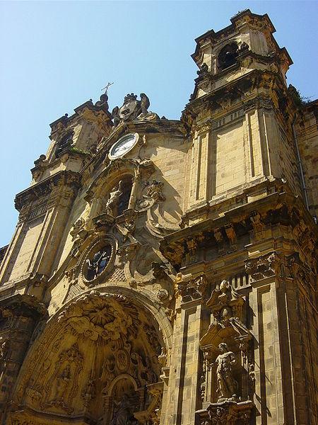 Fachada de Santa María.