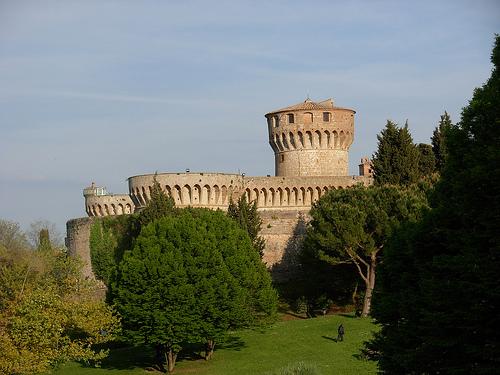 Fortaleza Medicea vista desde el parque Enrico Fiumi. Foto de Copetan - Flickr