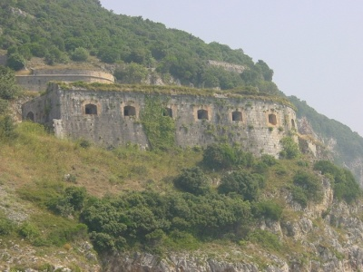 Fuerte San Carlos en Santoña