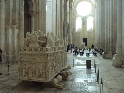 Interior del monasterio de Batalha. Foto tomada de http://santillan3.blogspot.com