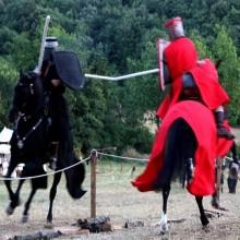 Justa medieval Monteriggioni