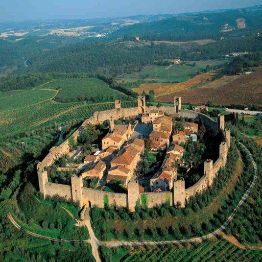 La fortaleza de Monterrigioni