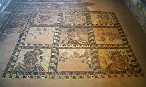 Mosaico romano de Pafos. Foto de Mrs Logic - Flickr