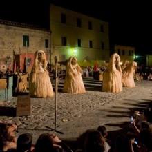 Espectáculo nocturno medieval
