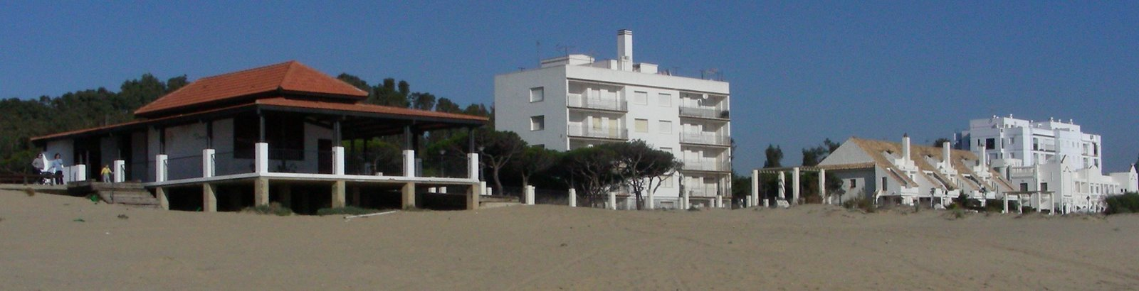 Playa Central, en Isla Cristina