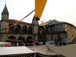 Ambientación del mercado medieval
