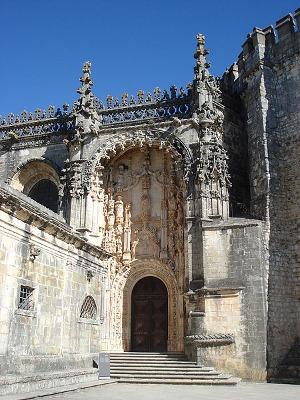 Portal sur de Tomar de Juan de Castillo