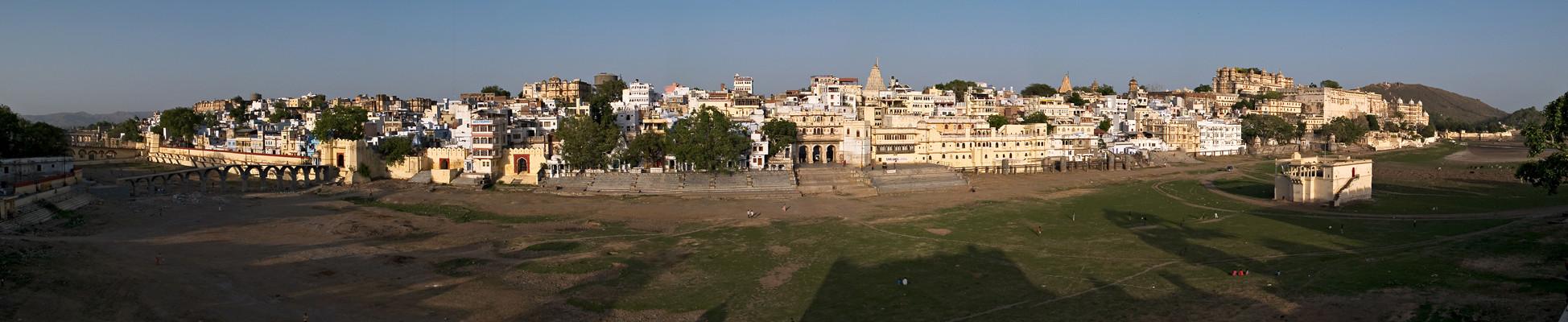 Panorama de Udaipur