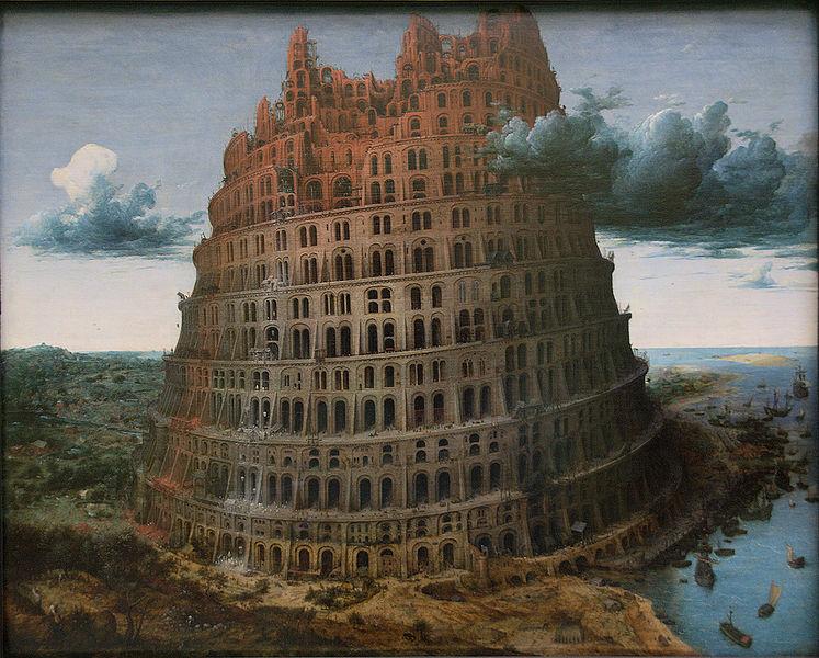 Bruegel torre de Babel
