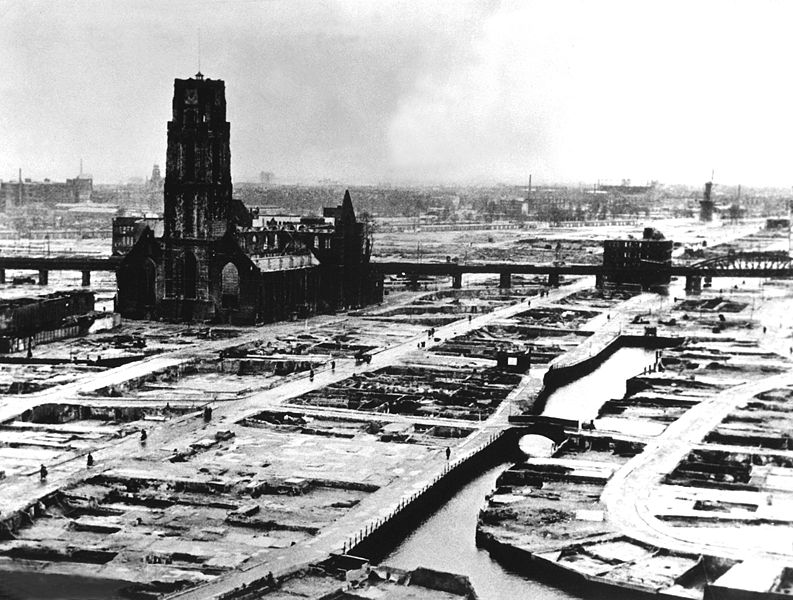 Rotterdam en la Segunda Guerra Mundial