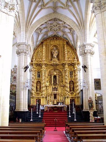 450px-Baeza_-_Catedral,_interior_21