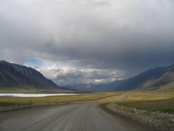 La autopista de hielo de Alaska: la «James W. Dalton Highway», o simplemente «Dalton Highway» 4