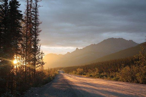 La autopista de hielo de Alaska: la «James W. Dalton Highway», o simplemente «Dalton Highway» 5