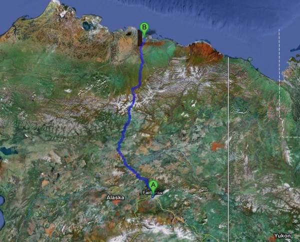 La autopista de hielo de Alaska: la «James W. Dalton Highway», o simplemente «Dalton Highway» 2