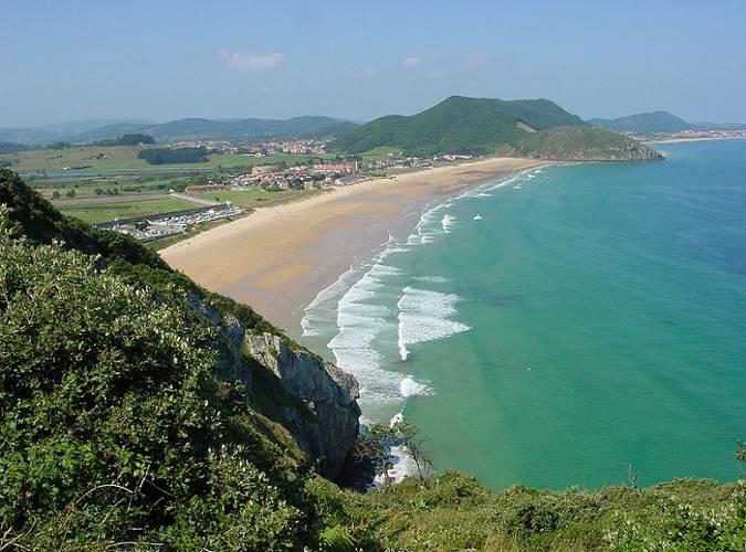 Playa de Berria, Santoña, Cantabria