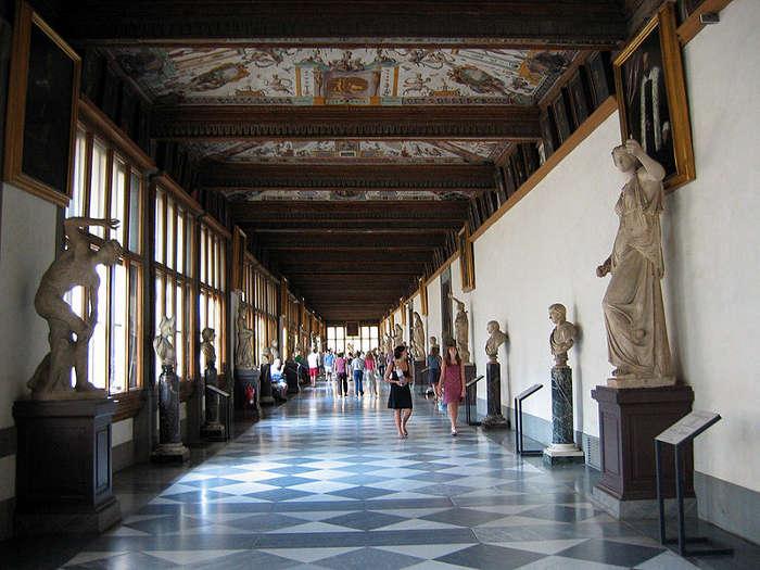 Galleria degli Uffizi, Florencia
