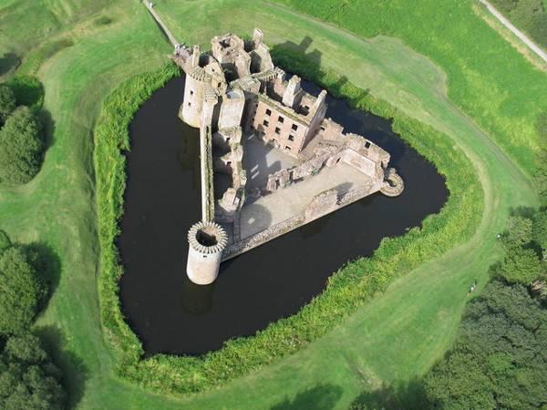 Castillo de Caerlaverock, en Escocia