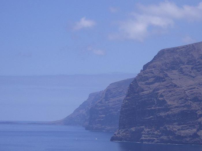Acantilados de los Gigantes, Tenerife, España