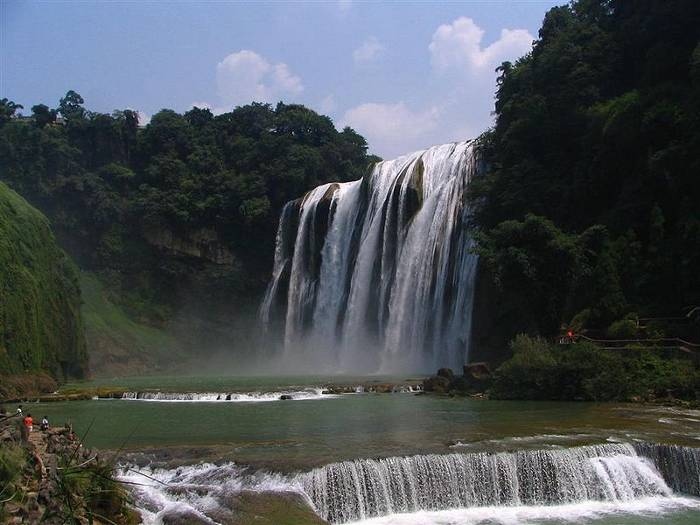 CASCADA DE HUANGGUOSHU, EN CHINA