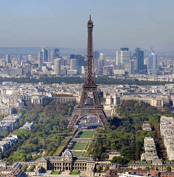 París, Francia. Foto de Taxiarchos228, Wikimedia Commons.