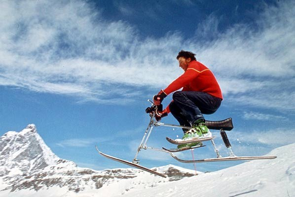 Deportes de nieve poco convencionales 5