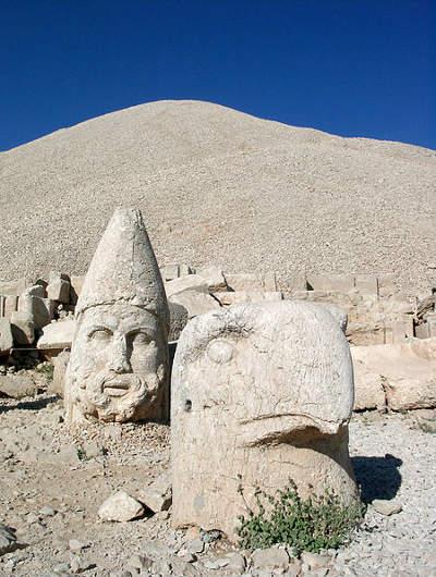 La cima del monte Nemrut, donde moraron los antiguos dioses 4