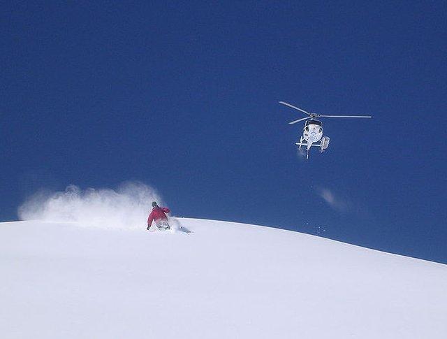 Deportes de nieve poco convencionales 6