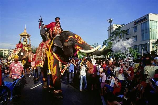 A dos semanas del Songkran o Año Nuevo tailandés 2
