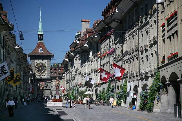 Elo Zytgloggeturm, en Berna, Suiza