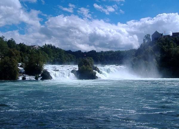 Cataratas del Rin, en Suiza