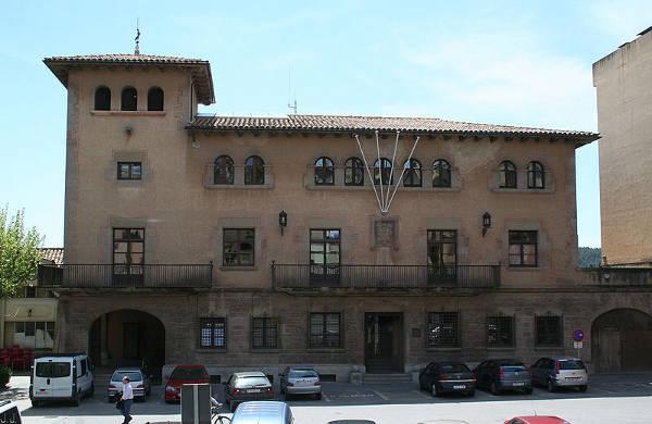 Edificio del casco histórico de Cardona.