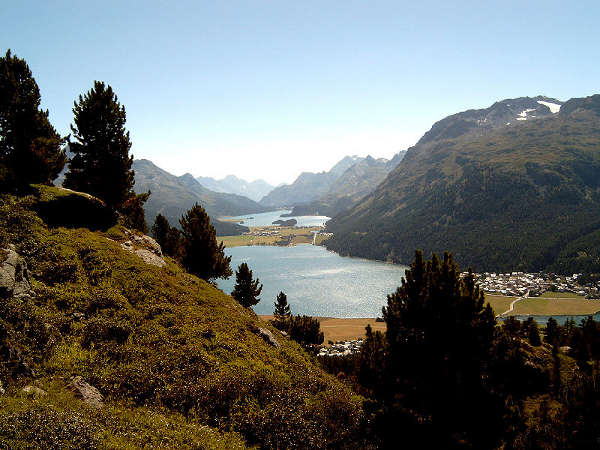 Lagos de Engadina Superior, en Suiza