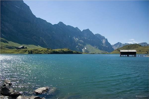 Lago de Trübsee, en Suiza