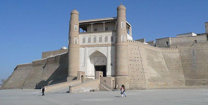 Castillo El Arca, Bujará, Uzbekistán