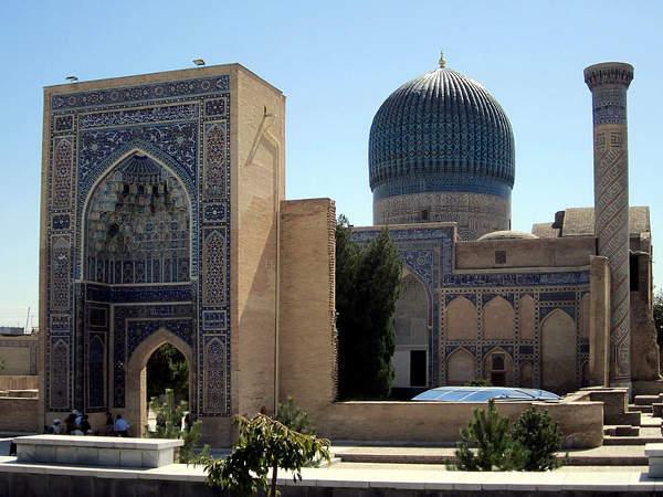 Mausoleo de Guri Amir, Samarcanda, Uzbekistán